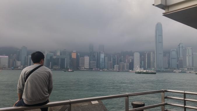 홍콩 뒷모습